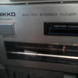 Радиотюнеры - Японские тюнеры Naiko и Technics, фм диапазон европейский, 220 вольт, 0