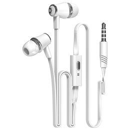 Наушники и Bluetooth-гарнитуры - Наушники Langsdom JM21, белый, 0