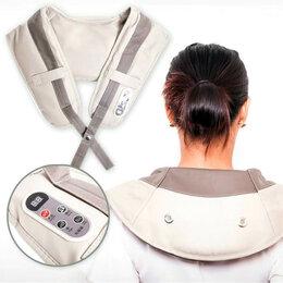 Другие массажеры - Ударный массажер для шеи и плеч Cervical Massage Shawls 999530, 0