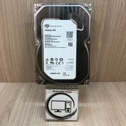 Жёсткие диски и SSD - HDD Seagate Barracuda 1 TB ST1000DM003, 0