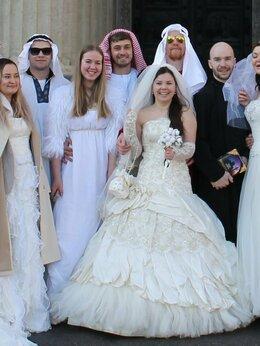 Платья - Счастливое дизайнерское свадебное платье 42-44…, 0