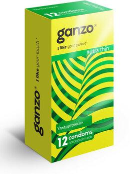 Презервативы - Ультратонкие презервативы Ganzo Ultra thin - 12…, 0