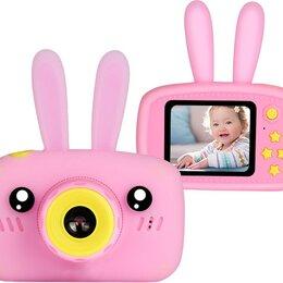 Фотоаппараты - Детский цифровой фотоаппарат Зайчик (розовый), 0