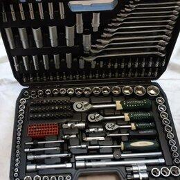 Торцевые головки и ключи - Набор инструментов Форс, 216 предметов, новый, профессиональный, 0