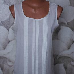 Блузки и кофточки - Блузки шифоновые белая и беж , 0