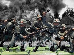 Фигурки и наборы - Солдатики 1/32 Britains Солдатики пехота 8…, 0