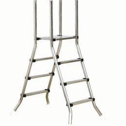 Лестницы и поручни - Лестница из нержавеющей стали для наземного бассейна 1.5 м., 0