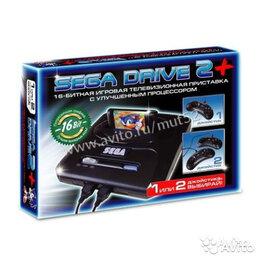 Ретро-консоли и электронные игры - Приставка Сега Sega MegaDrive2 Black классика, 0