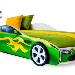 Кроватки - Кровать-машина Бондмобиль, зеленый, 0