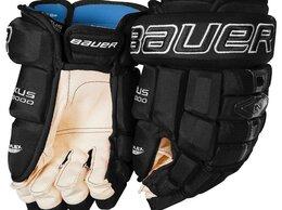 Защита и экипировка - Перчатки хоккейные bauer Nexus N9000, 0