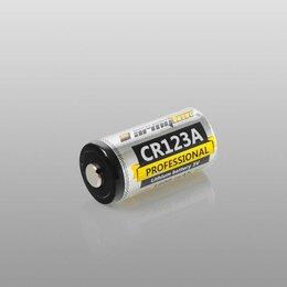 Батарейки - Батарейка Armytek CR123A 1600 mAh, 0