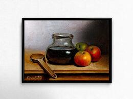 Рисование - Картины маслом 30х40  , 0