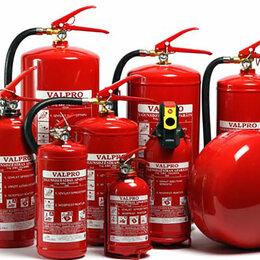 Охранно-пожарная сигнализация - Перезарядка огнетушителей, замер давления в пожарных кранах и гидрантах. , 0