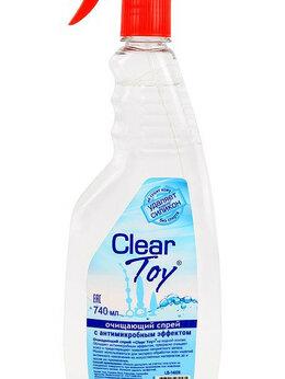 Средства для интимной гигиены - Очищающий спрей CLEAR TOY с антимикробным…, 0
