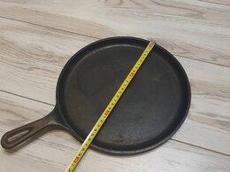 Сковороды и сотейники - Американская чугунная сковорода для блинов, 0