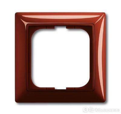 Рамка 1-постовая ABB Basic55 foyer-красный 2CKA001725A1516 по цене 169₽ - Электроустановочные изделия, фото 0