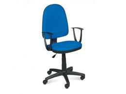 Компьютерные кресла - Кресло Престиж самба сине-черное, 0