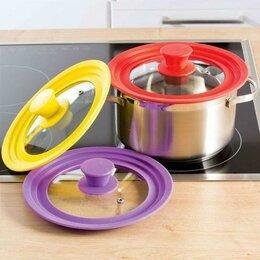 Аксессуары - Многоразмерная крышка для посуды, Силиконовый ободок, 0