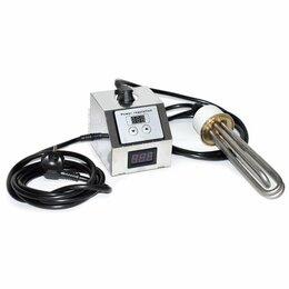 Аксессуары и запчасти - ТЭН 3 кВт нержавейка (с регулятором мощности и вольтметром), 0