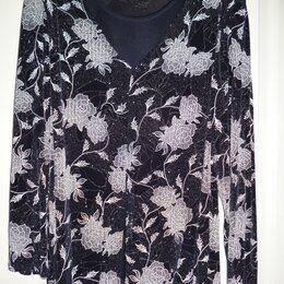 Блузки и кофточки - Блузон с люрексом, 0