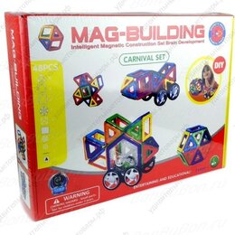 Автокресла - Магнитный конструктор Mag-Building 48 дет., 0
