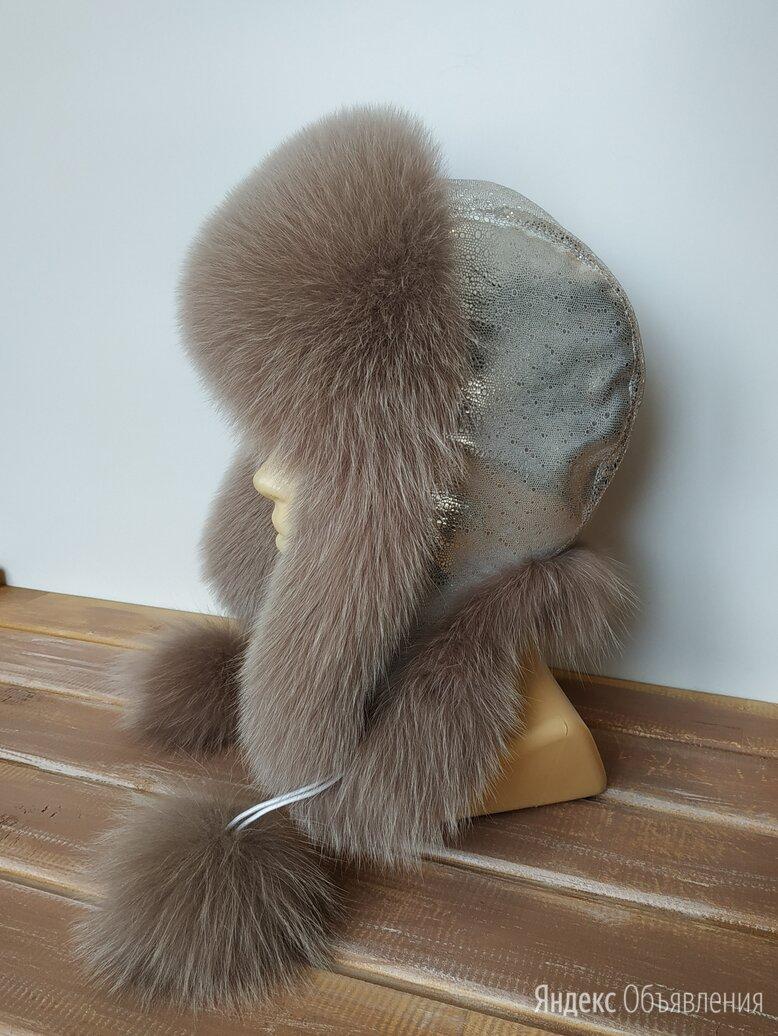 Ушанка меховая женская Арт.Ум2359 по цене 5800₽ - Головные уборы, фото 0