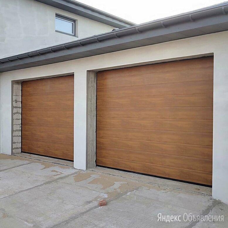 Секционные ворота по цене 50552₽ - Заборы, ворота и элементы, фото 0