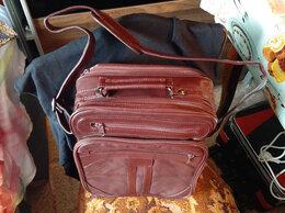 Дорожные и спортивные сумки - Сумка кожаная мужская США, 0