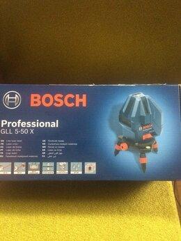 Измерительные инструменты и приборы -  Лазерный уровень bosch GLL 5-50 X Professional, 0