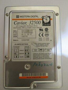 Внутренние жесткие диски - Ретро жёсткий диск 2,4 GB WDC AC32500H + IDE-шлейф, 0