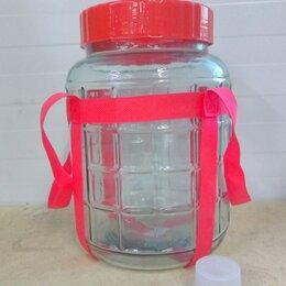 Ёмкости для хранения - банка 8 литров с гидрозатвором, 0