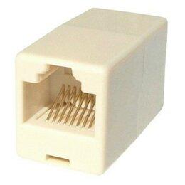 Кабели и разъемы - Соединитель RJ 45 кабелей, 0