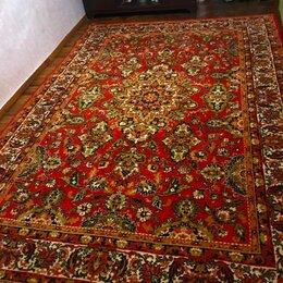 Ковры и ковровые дорожки - Красивый чисто шерстяной ковёр  красный с…, 0