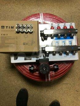 Комплектующие для радиаторов и теплых полов - Комплект теплый водяной пол 80 кв.м, 0