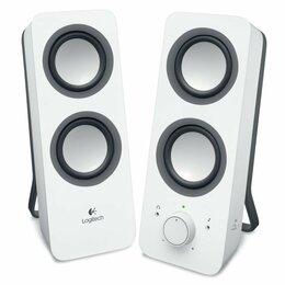 Комплекты акустики - Компьютерная акустика Logitech Z200 Белая, 0