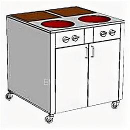 Промышленные плиты - Плита комбинированная Heidebrenner ETK-I-FW 742428, 0