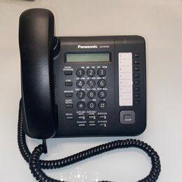 Системные телефоны - Panasonic KX-NT551 - cистемный IP-телефон, черный. Б/у и новый в наличии., 0