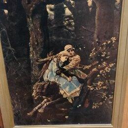 Картины, постеры, гобелены, панно - Картина Иван Царевич и серый волк , 0