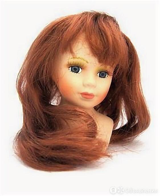 """23773 Парик """"Прямой"""" для кукол П 80 цв.М - по цене 164₽ - Куклы и пупсы, фото 0"""