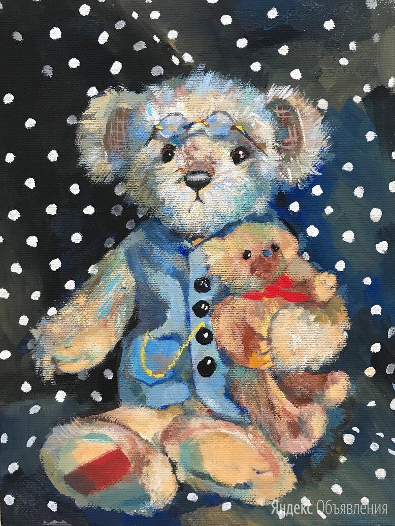 Картина: «Мишки» по цене 3000₽ - Картины, постеры, гобелены, панно, фото 0