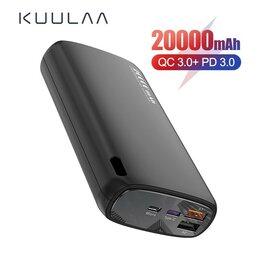 Универсальные внешние аккумуляторы - Внешний аккумулятор 20000 мАч Quick Charge, 0