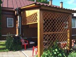 Готовые конструкции - Решётки деревянные для беседки, крыльца, 0