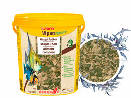 Корма  - Sera Vipan Nature Large Flakes 21 л, 0