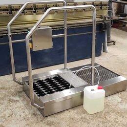 Аппараты для чистки обуви - Станция гигиены обуви проходная ASP L-12, 0