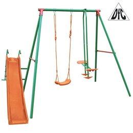 Игровые и спортивные комплексы и горки - Детский уличный комплекс с горкой DFC MSN-02, 0
