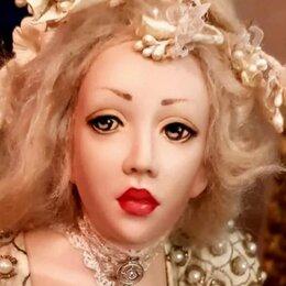 Куклы и пупсы - Фарфоровая кукла - девушка Нереальной красоты, 0