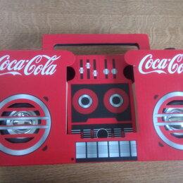 Музыкальные CD и аудиокассеты - Акустическая колонка Кока-Кола, 0