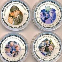 """Монеты - Набор монет 2 доллара 2007 г """"Приключения…, 0"""
