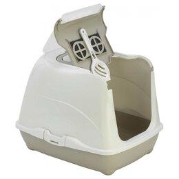 Туалеты и аксессуары  - Moderna Flip Cat (50x39x37h см) Серый Био-туалет…, 0