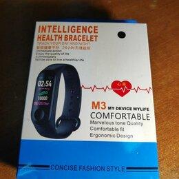 Пульсометры и шагомеры - Фитнес-браслет Intelligence Health BraceleT M3 MY, 0